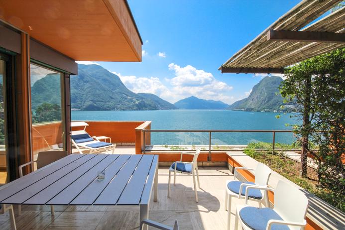 Lugano Castagnole attico terrazzo 7