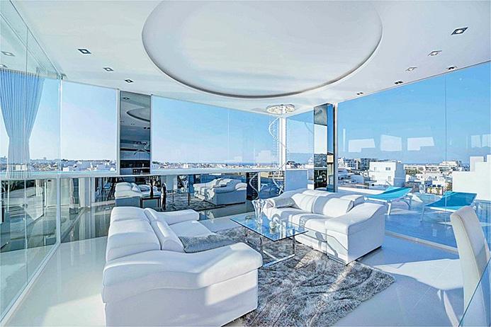Malta St Julians appartamento con piscina 10