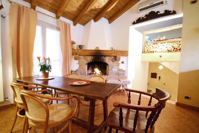 Bergamo Colognola casa indipendente soggiorno 16